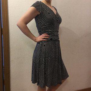 Size 14 polka dot dress